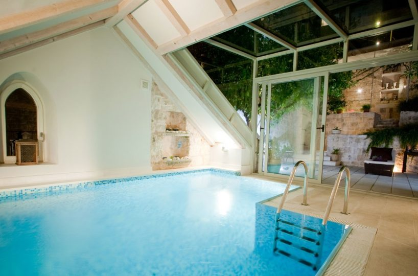 Heritage luxury pool villa in the center of Hvar