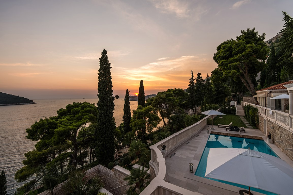 Private luxury villa with private beach Dubrovnik