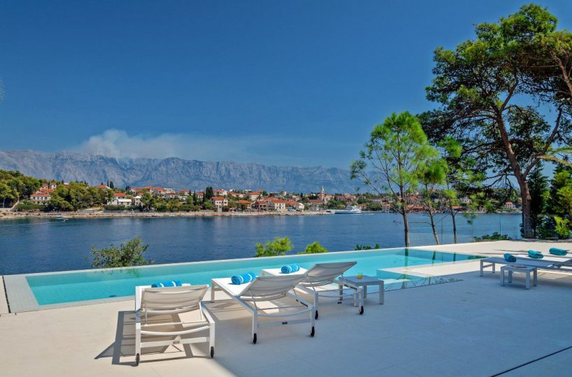 High end villa Brac island
