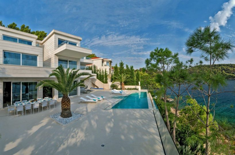 High end waterfront villa Brac island